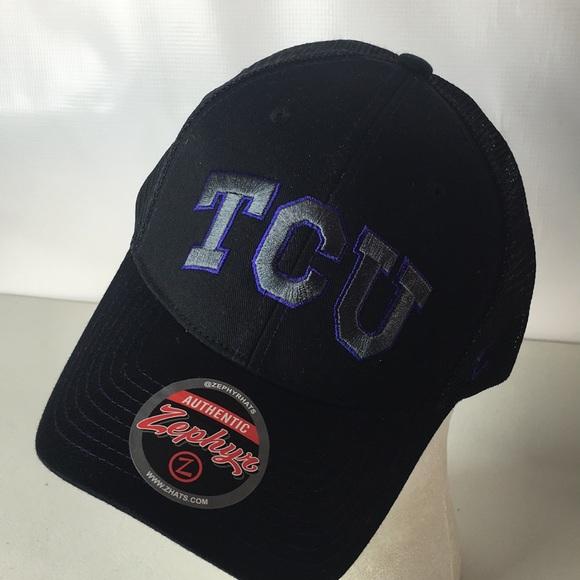 best loved 75f64 18c3d Texas Christian Horned Frogs Hat TCU Trucker NCAA. NWT. Zephyr
